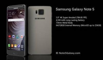Релиз фаблета Samsung Galaxy Note 5 состоится в июле