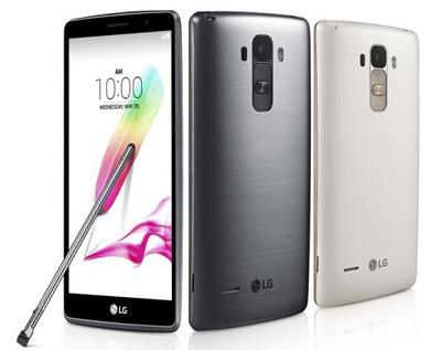 Состоялся официальный анонс фаблета LG G4 Stylus