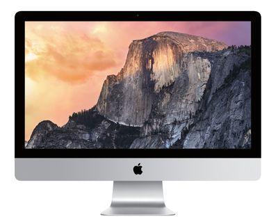 Новый 27-дюймовый моноблок iMac с дисплеем Retina 5K оценён в 140000 рублей / Новости hardware